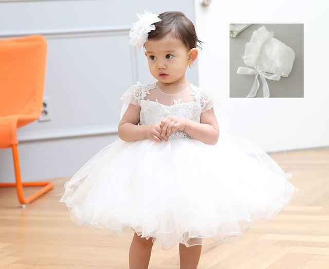 026946874 2 Unids set Niñas de 1 años Vestidos de Fiesta de Cumpleaños Vestido de  Princesa