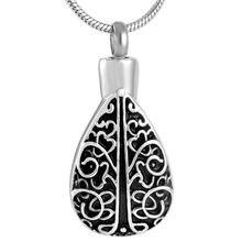 Mjd8501 Дерево жизни Овальный урн кулон ювелирный памятный сувенир