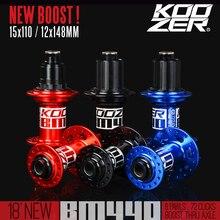 KOOZER BM440 BMX XC AM Fat Bike Hub MTB Mountain Bike BOOST 15×110 12x148mm 11 Speed 32 Holes Thru XD Front Rear Bicycle Hubs
