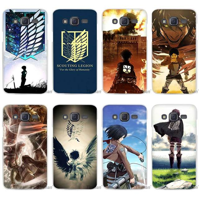 Attack On Titan Case Cover for Samsung Galaxy j Series