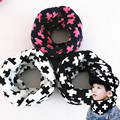 Winter new children's baby wool scarf men women knitting warm scarves cross thick boys girls outdoor O ring collar kids neckwear