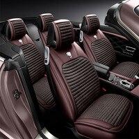 2017 3D спортивный автомобиль сиденья общего Подушки, старший кожа, автомобиль Стайлинг для BMW Audi Honda CRV Ford Nissan седан внедорожник