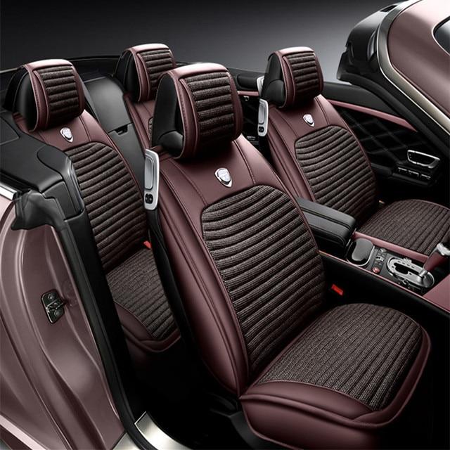 2017 3D Sport Car Seat Cover General Cushion,Senior Leather,,Car Styling For BMW Audi HONDA CRV Ford Nissan Sedan SUV