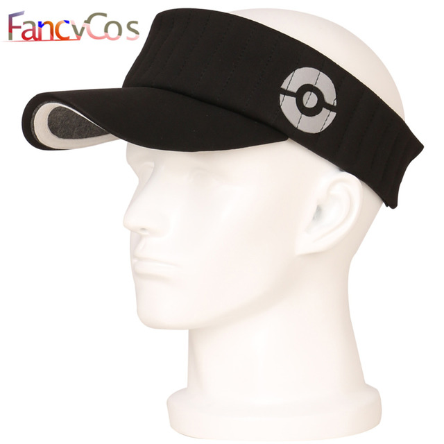 Halloween 2017 New Pokemon GO Trainer Hat PokeBall Visor Team Mystic  Instinct Valor Gray 51ec800ef59b