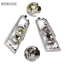 цена на MZORANGE LED/Halogen Blub Front Fog Lamp Fog Light  For CIVIC FD2 FD1 2006-2011 For CIIMO 2012 2013 2014 2015 33950-TX3-H01