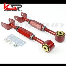 Kingsun Rear Adjustable Alignment Suspension Camber & Toe Kit/Traction Control Rod For Honda CRV 02-06