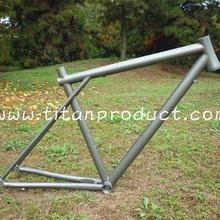 Титановая рама для шоссейного велосипеда GT style