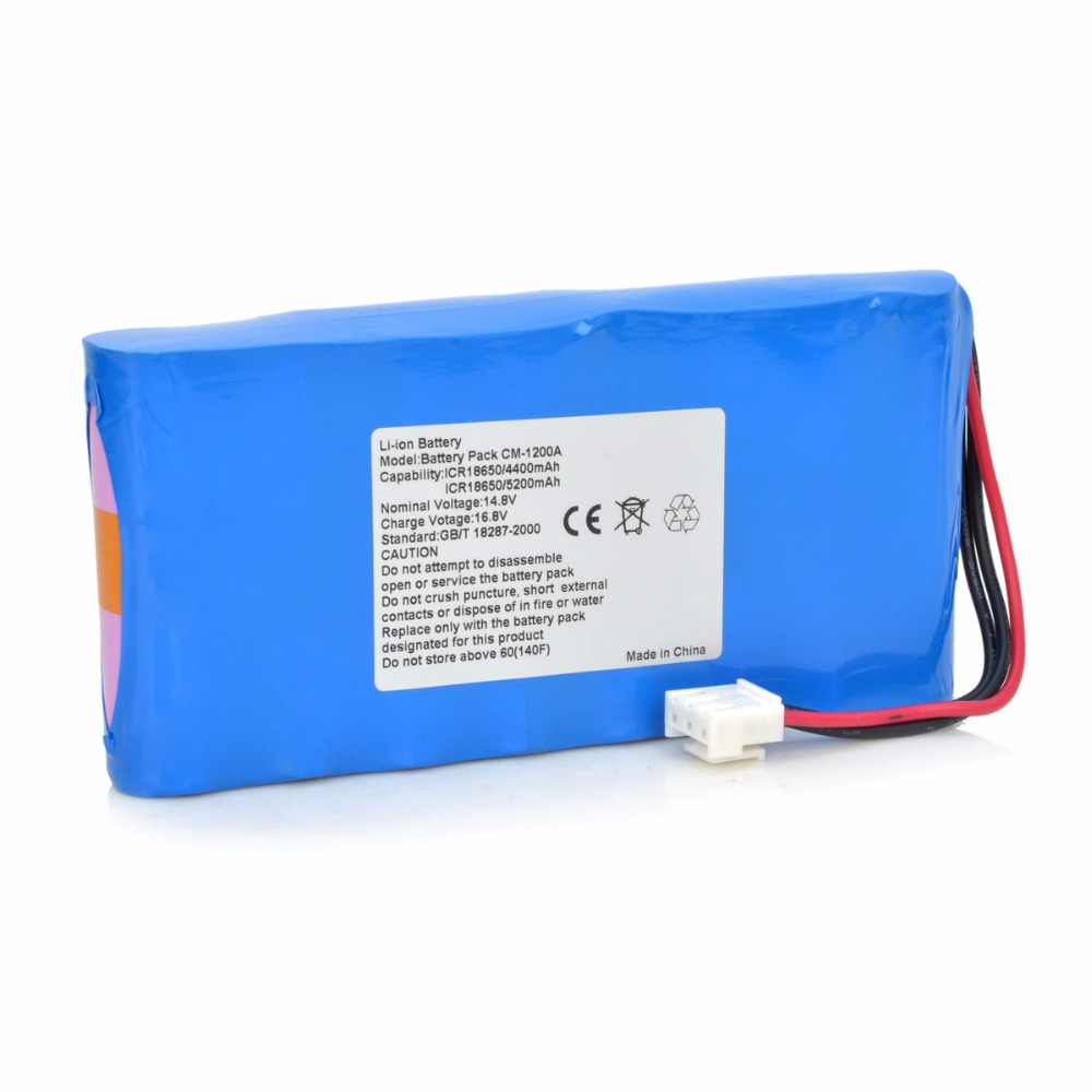 New ECG battery for COMEN CM-1200A CM-1200A CM1200A