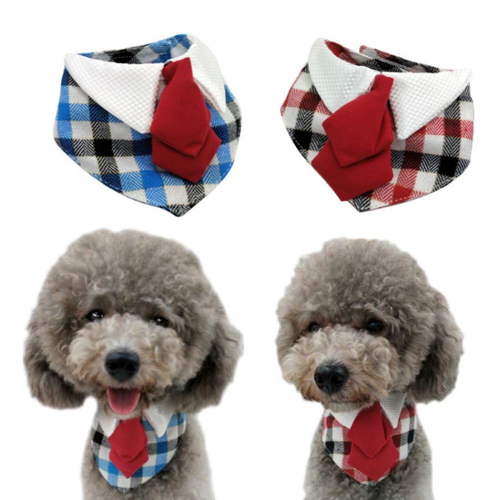 High Quality 1Pc Lovely Pet Dog Scarf Collar Adjustable Puppy Bandana Quality Pet Cat Bow-Knot Tie Collar Hot Sale