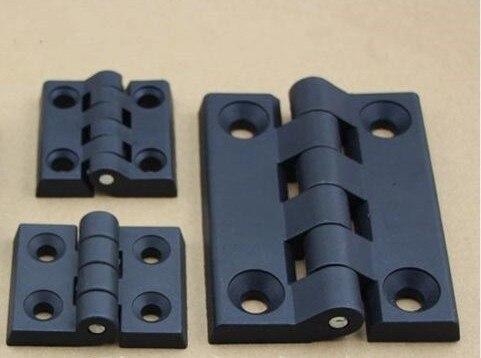 10 Teile/satz Schwarz Farbe Nylon Kunststoff Butt Scharnier Für Holz Box Möbel Elektrische Schrank Hardware
