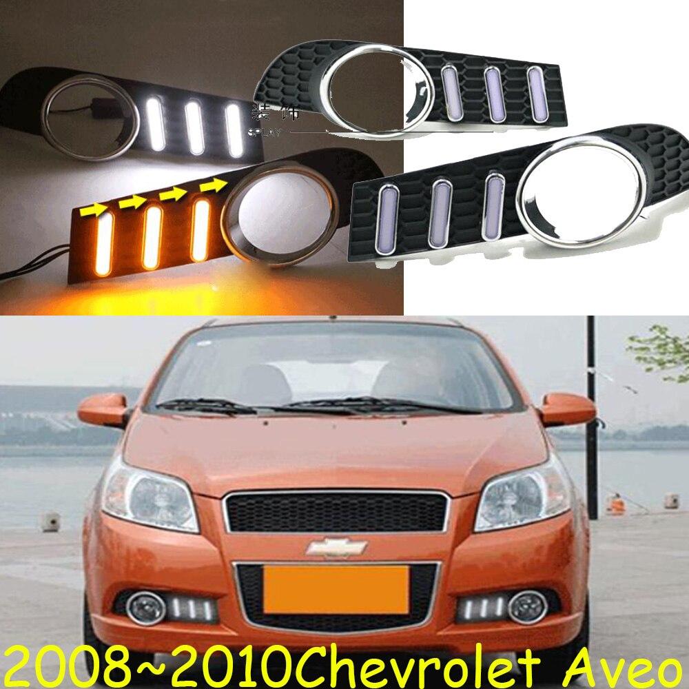 Video Aveo daytime light 2008 2010 LED Aveo daytime running light Epica Lova spark car accessories