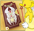 Limited edition Cardcaptor Sakura Card Captor Kinomoto 56 pieces clow cards Cosplay Action Figure Gifts for kids