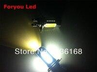 2 xenonweibe 16 W H7-LED mit Linse je 4x1,5 W und 2x5 W Cree Cips LED CAN-Bus