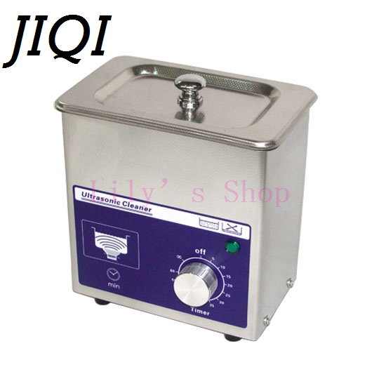 MINI ultrasonic cleaning machine digital wave cleaner 80w Household glasses jewelry Watch Toothbrushes Bath 110V 220V EU US plug