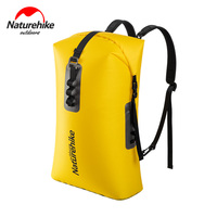 Naturehike Double Shoulder Dry Bag 28L Waterproof Bag Dry And Wet Separation Sack Foldable TPU Swimming Drifting