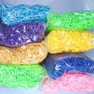 Image 1 - Haxixinjing atacado 2000pc plástico tricô agulha gancho ponto suportes fivela crochê travamento ponto marcadores trava 9cm comprimento