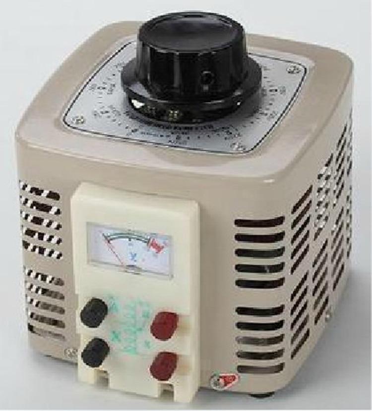 Voltage regulator 500W full copper TDGC2-0.5KVA single phase 220V output 0-300V adjustable autotransformerVoltage regulator 500W full copper TDGC2-0.5KVA single phase 220V output 0-300V adjustable autotransformer