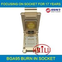 Samsung телефон чип ufs2.0 bga95 Тесты socket адаптер 0.65 мм для kluag2g1bd e0b2 klubg4g1bd e0b1klucg8g1bd e0b1 чип Тесты ING