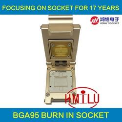Samsung telefon Chip UFS2.0 BGA95 Test Sockeladapter Pitch 0,65mm Für KLUAG2G1BD-E0B2 KLUBG4G1BD-E0B1KLUCG8G1BD-E0B1 Chip Prüfung