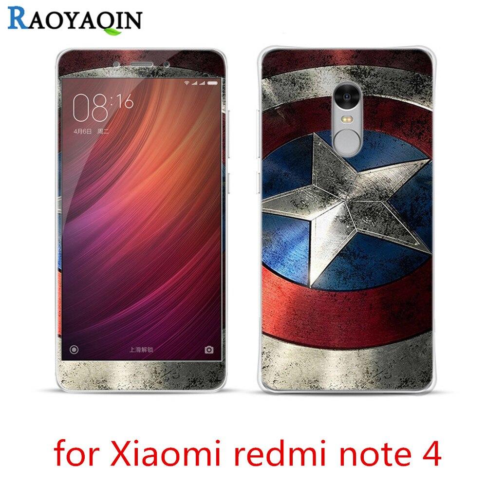 imágenes para 8 unids Para Xiaomi Redmi Nota 4 Caso de la Cubierta 3D de la Historieta Linda alivio de Lujo Suave De Silicona Fundas para Redmi Nota 4 Con Vidrio Templado