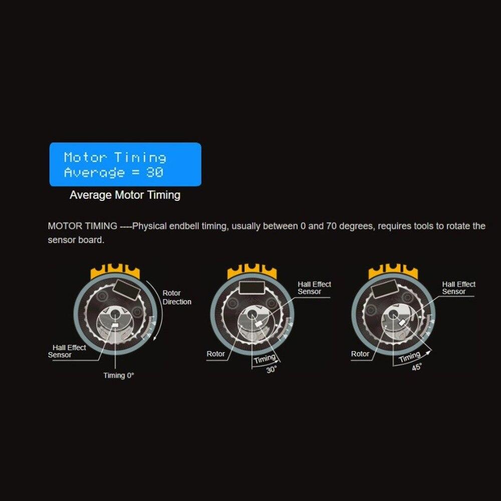 الأصلي SKYRC BMA 01 فرش السيارات محلل تستر RPM KV الجهد توقيت الضوضاء أمبير قاعة مدقق Motolyzer ل RC سيارة جزء-في قطع غيار وملحقات من الألعاب والهوايات على  مجموعة 3