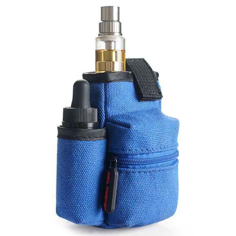 Оптовая продажа электронных сигарет Карманный E Cig чехол двухслойная сумка для вейпа Vape Mod чехол для RDA Box 18650 батарея