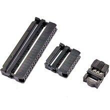 100 ชุด FC 6P FC 8P FC 10P FC 14P FC 16P FC 26P FC 30P 34P 40P 50P 60P 64P IDC ซ็อกเก็ต Dual Row 2.54mm IDC Connector cable socket