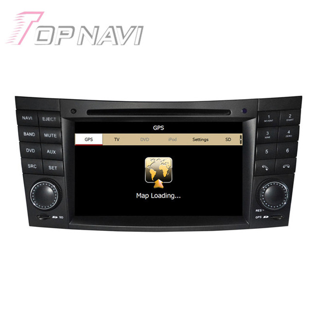 Wince Car Radio Stereo For Benz E-W211(2002-2008) for Benz CLS W219(2004-2008) for Benz CLK W209 2005 2006 Car GPS Video Player