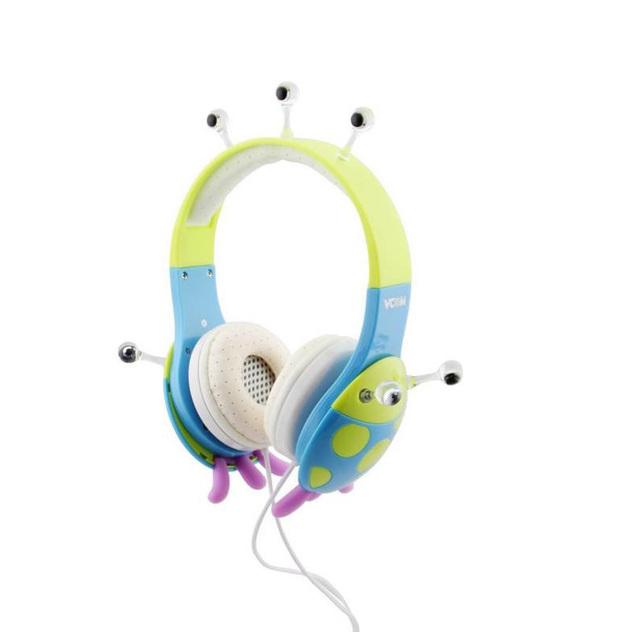 New Bonito Das Crianças Das crianças menina headband do fone de ouvido fone de ouvido com fio Proteção Auditiva para 6-18 anos Dos Desenhos Animados estilo melhor presente