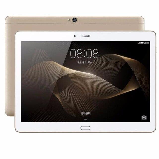 Оригинал Huawei MediaPad M2 10.0 Tablet PC 10.1 дюймов Кирин 930 Окта основные 3 ГБ 16 ГБ/64 ГБ 5MP + 13MP 6660 мАч (4 Г LTE) WI-FI GPS