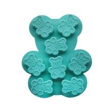 Bear shape cookie moulds