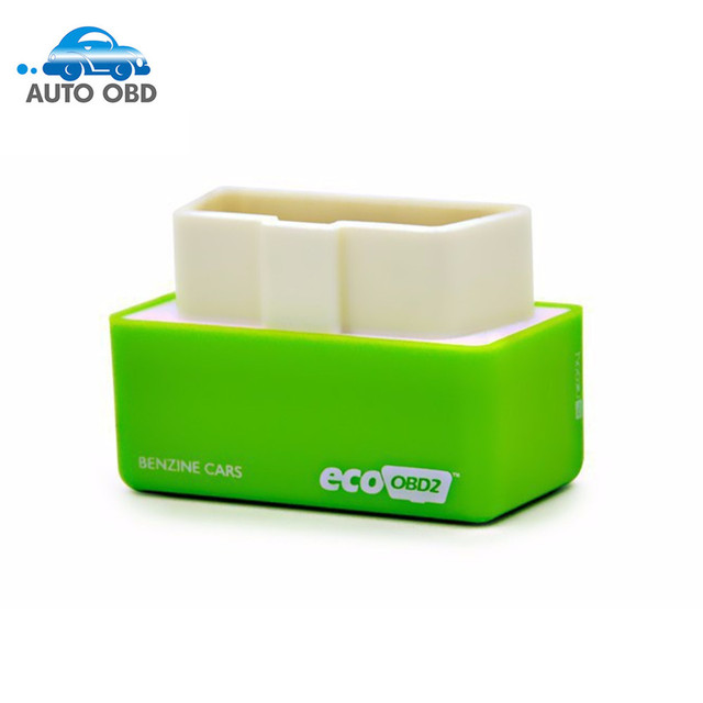 2019 High Recommend EcoOBD2 Benzine Car Chip Tuning Box Plug and Drive Eco OBD2 Economy Chip Tuning Box 15% Fuel Save Free Ship