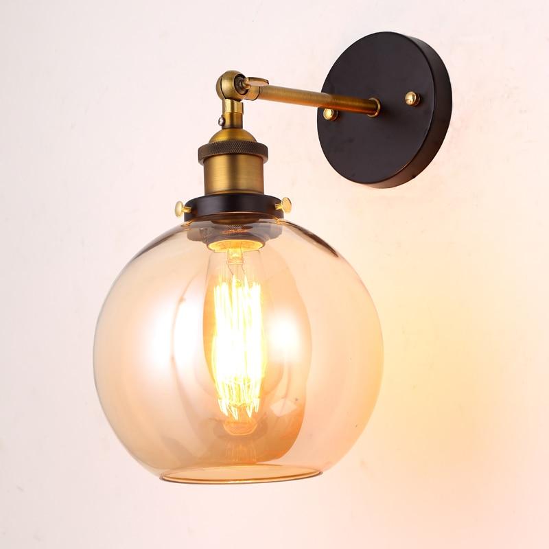 Precio al por mayor Loft Vintage Industrial Edison Lámparas de pared - Iluminación interior - foto 5