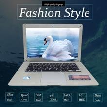 14 inch win7/win8.1 Laptop computer PC In-tel Celeron JI9002.0GHZ Quad Core 8GB RAM 7500GB HDD Slim Ultrabook,send free mouse