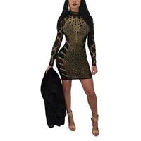 NEW Robe A Sequins Style Black Dress Womans Fashion 2018 Casual Vestidos De Festa Robe A