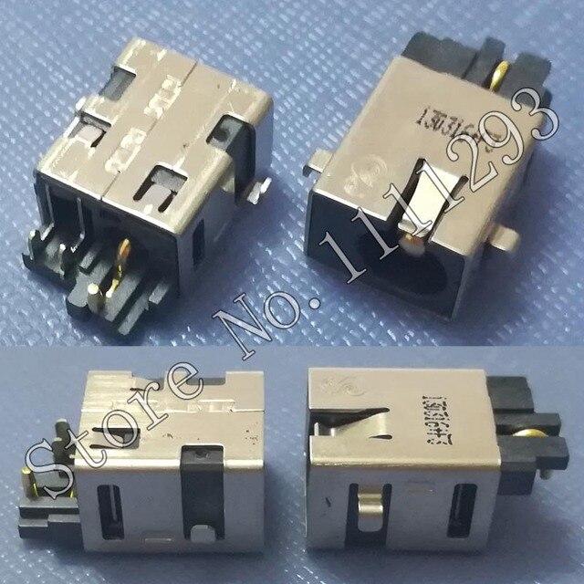 10 pçs/lote DC Power Jack Conector para Asus X402 X402CA X502 X502CA S300CA S301LA S400CA S500C S451L S451LB S451LN etc tomada DC