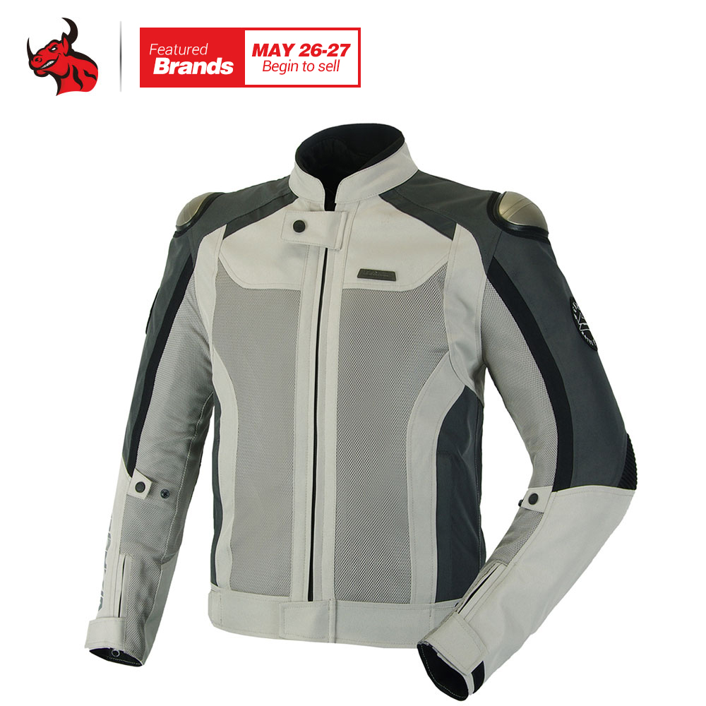 BENKIA Summer Chaqueta Cuero Moto Motorcycle Jcaket Breathable Jacket Racing Clothes Spring And Autumn Motocross Suit