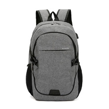 New Mens Casual Backpack Breathable Wear Rucksack Business Laptop Bag Solid Color Student Waterproof Travel Bags