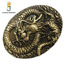 FAJARINA New Unique Design Animal Gold Solid Brass Buckle Only for 3.6-3.9cm Width Belt Free Shipping Many Models Options BCK035