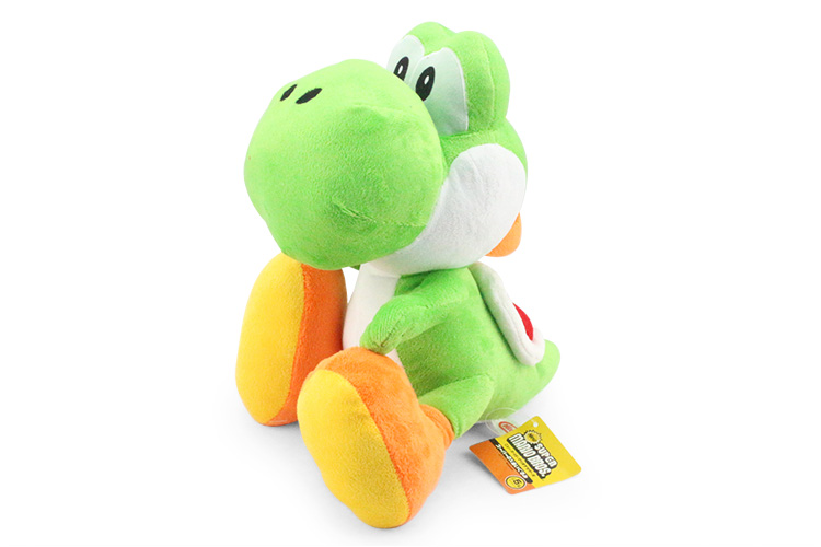 Super Mario Bros Yoshi Plush Doll Toy With Tag Soft Yoshi Doll Kid's Gift 28cm 2016 new super mario plush 17cm one piece anime soft yoshi plush cute lovely doll kids gift