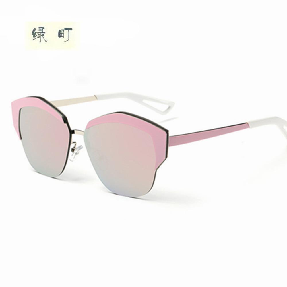 bdadfd2eac38d6 Mode Rétro Ronde Cat Eye lunettes de Soleil Hommes Femmes Designer Lunettes  En Métal Cadre UV400 Lunettes oculos de sol lunette de soleil