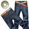 2016 men straight waist cotton slacks Business casual jeans