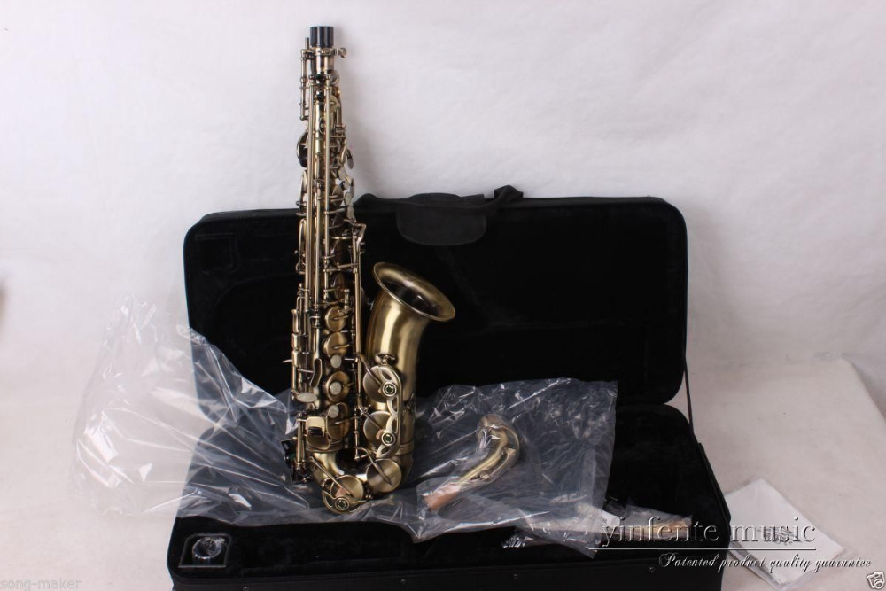 new alto sax saxophone antique high quality low price inlaid pattern in saxophone from sports. Black Bedroom Furniture Sets. Home Design Ideas