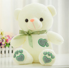 cute love teddy bear 75cm doll plush toy bowtie bear doll  soft throw pillow ,Christmas gift  x089