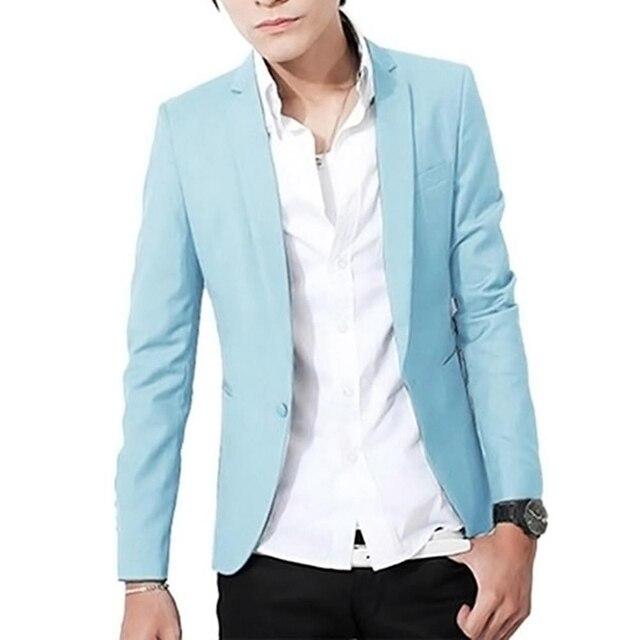 Faroonee Brand Luxury Blazer Men British's Casual Slim Fit Men's Suit Jacket Male Blazers Men Coat Plus Size 3XL Black Y2014