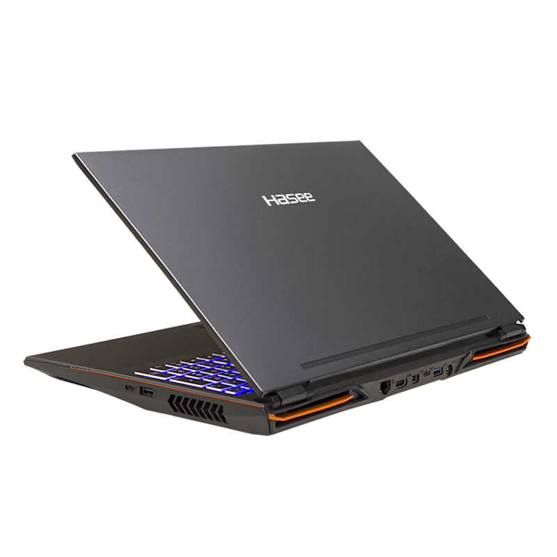 HASEE Z9-CT7PK Laptop untuk Gaming(Intel Core I7-9750H + RTX 2070/16GB RAM/256G SSD + 1T HDD/15.6 ''144 HZ IPS 72% NTSC) HASEE Notebook