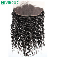 Дева волос компания Накладные пряди на кружеве для передней части головы Накладные волосы волна воды 100% remy Человеческие волосы 130% плотность немного предварительно сорвал с для волос