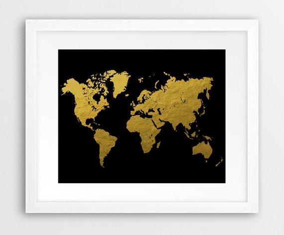 World-Map-Poster-Watercolor-Grey-Black-And-White-World-Map-Canvas-Painting-Oil-Painting-Print-On.jpg_640x640