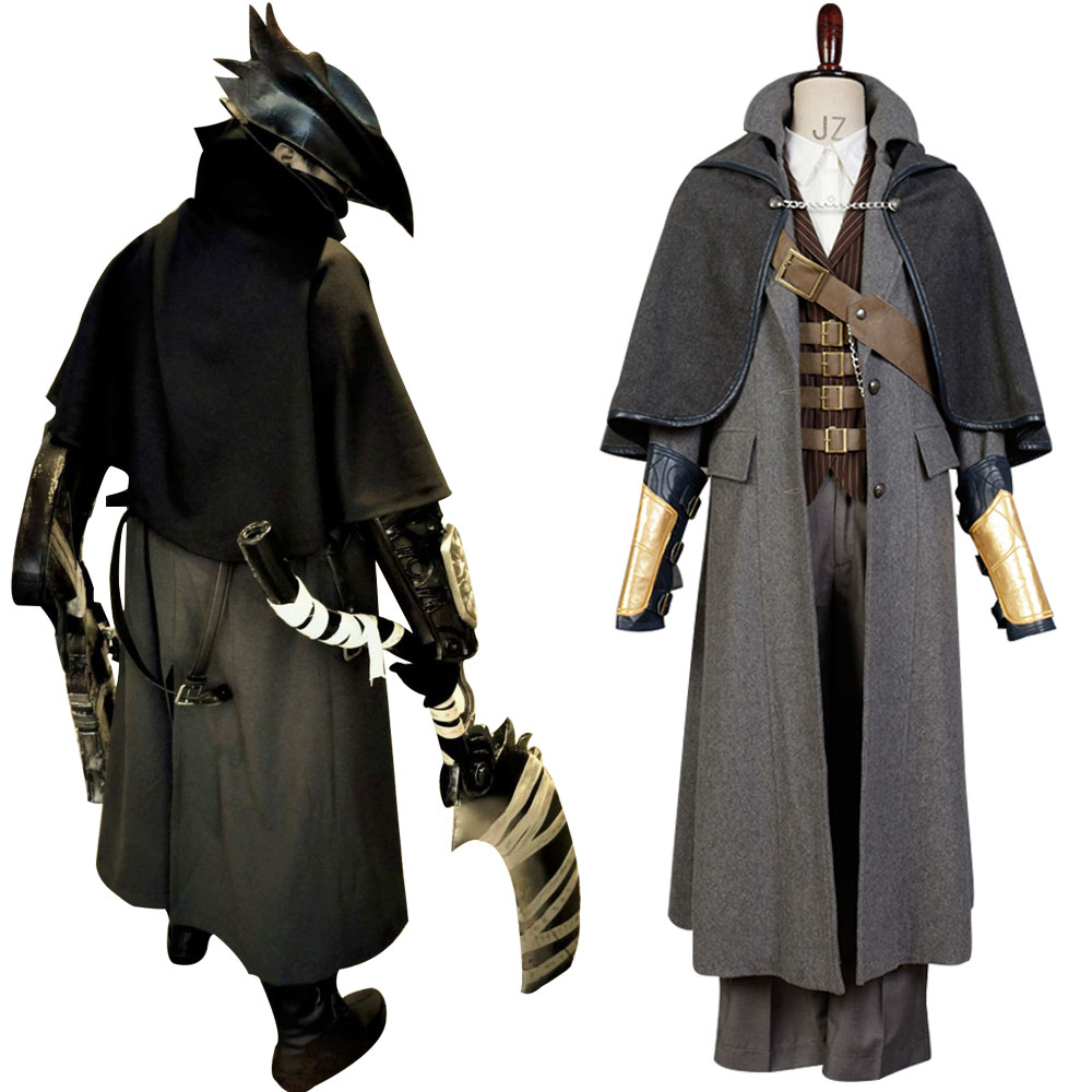 Cospaly Bloodborne Outfit Whole Sets Cosplay Costume Custom Made Fashion Uniform Halloween Carnival Costume