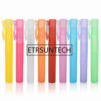 300pcs 10ml Travel Pen Shape Perfume Spray Bottles Sample Empty containers Atomizer Alcohol Disinfectant Refillable Bottle 3 colors 10ml mini portable refillable perfume atomizer spray bottles empty bottles cosmetic containers bottles gifts wlw27
